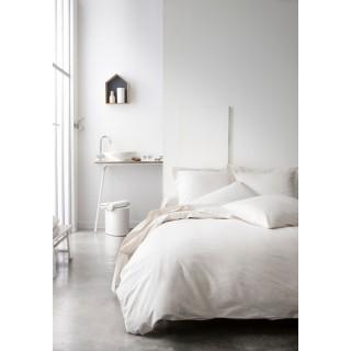 Parure de lit - 100% coton - 240 x 260 cm - Ivoire
