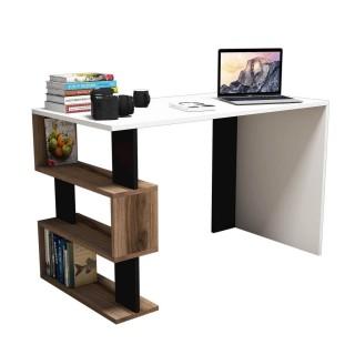 Bureau design Snap - L. 120 x H. 75 cm - Blanc