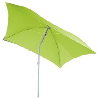 Parasol de plage carré Hélenie - L. 180 x l. 180 cm - Vert anis