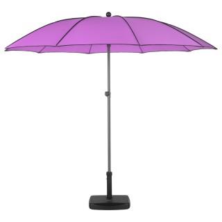Parasol droit rond Bogota - Inclinable - Diam. 250 cm - Violet