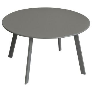 Table d'appoint de jardin Saona - Diam. 70 cm - Gris ardoise mat