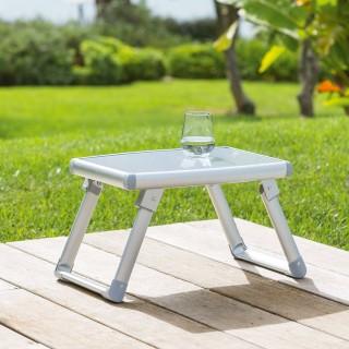 Table d'appoint de jardin Volta - Gris