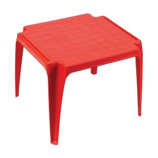 Table de jardin enfant Baby - Rouge