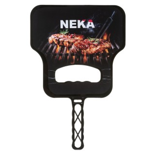 Planche à ventilation pour barbecue - Noir