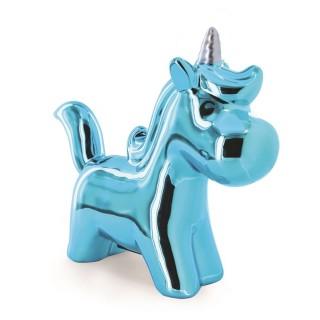 Tirelire enfant Licorne - Bleu