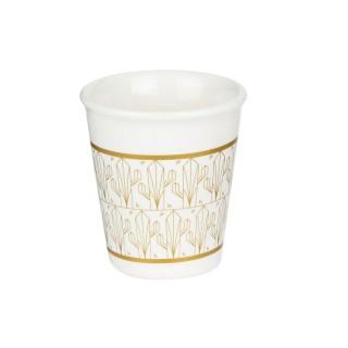 Tasse à expresso design Home déco - 70 ml - Blanc