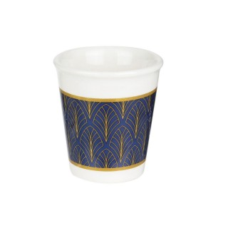 Tasse à expresso design Home déco - 70 ml - Bleu