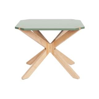 Table basse scandinave Miste - L. 60 x H. 40 cm - Vert