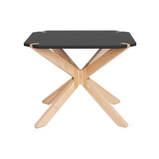 Table basse scandinave Miste - L. 60 x H. 40 cm - Noir
