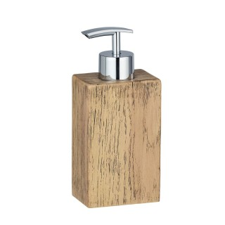 Distributeur de savon scandi Marla - Marron