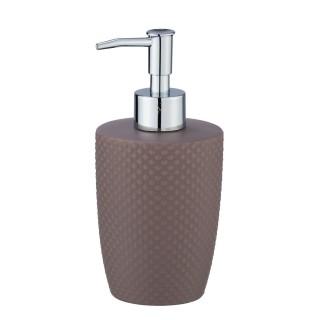 Distributeur de savon Punto - Céramique - Taupe