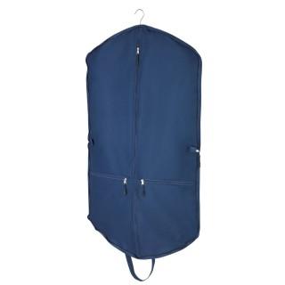 Housse protection pour vêtements - L. 62 x H. 112 cm - Bleu