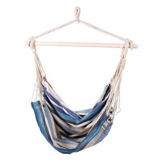 Hamac chaise Bolivia - L. 120 x l. 130 cm - Bleu