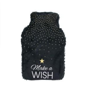 Bouillotte design Wish - 1 L - Noir
