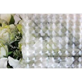 Film décoratif pour vitre vitrostatique Carro - 150 x 45 cm - Transparent