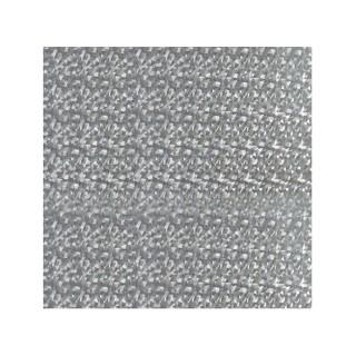 Film décoratif pour vitre vitrostatique Cristaux - 150 x 45 cm - Transparent