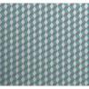 Crédence adhésive en alu Cube - L. 20 x l. 20 cm - Gris