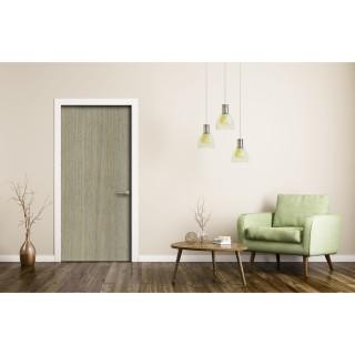 Sticker pour porte d'intérieur imitation Bois - L. 83 x l. 204 cm - Chêne clair