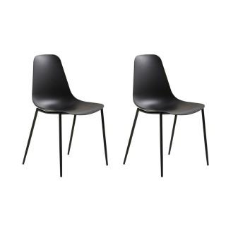 2 Chaises design Antila - Noir