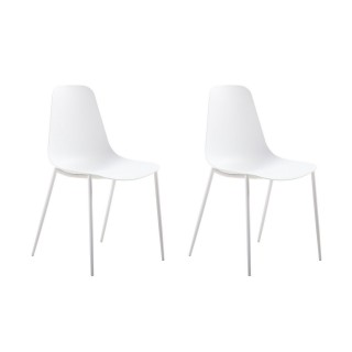 2 Chaises design Antila - Blanc