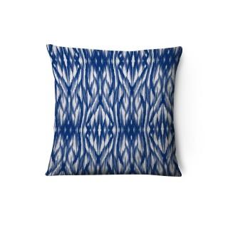 Housse de coussin en velours Timi - L. 43 x l. 43 cm - Bleu