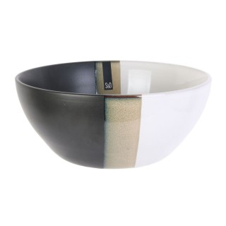 Saladier design Black and White - Blanc