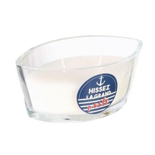 Bougie parfumée Bord de mer Marin - Blanc