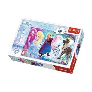 Puzzle Reine des Neiges Une surprise pour Elsa - + 4 ans - 60 pièces