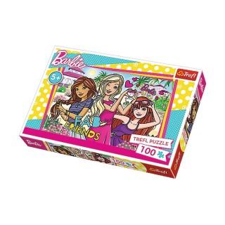 Puzzle Barbie Les vacances - + 5 ans - 100 pièces