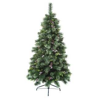 Sapin de Noël artificiel Wyoming - H. 180 cm - Vert