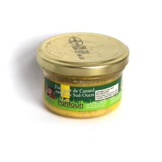 Foie gras de canard entier du Sud Ouest IGP - La Ferme du Puntoun - bocal : 70g