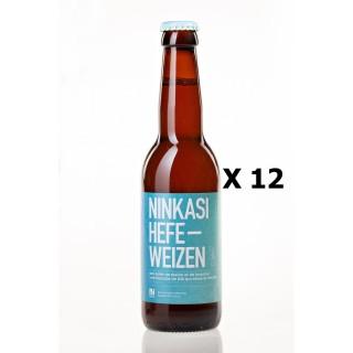 Lot 12x33cl - Bière Ninkasi Hefeweizen