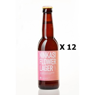 Lot 12x33cl - Bière Ninkasi Flower Lager