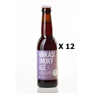 Lot 12x33cl - Bière Ninkasi Smoky Ale