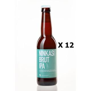 Lot 12x33cl - Bière Ninkasi Brut IPA