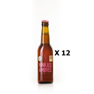 Lot 12x33cl - Bière Ninkasi Ambrée