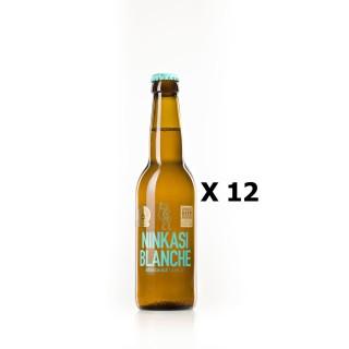 Lot 12x33cl - Bière Ninkasi Blanche