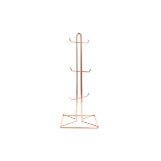 Porte mug en en métal Copper - H. 37 cm - Marron cuivré