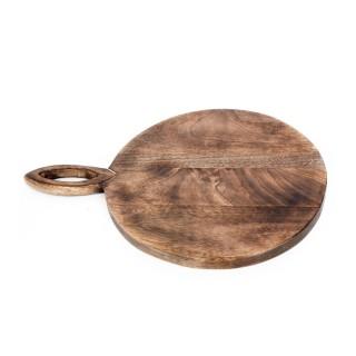 Planche à découper bois Bord de mer - L. 39 x l. 28 cm