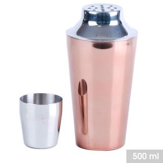 Shaker à cocktail design Gold - 500 ml - Rose gold