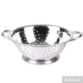 Passoire en inox Silver - Diam. 24 cm - Argent