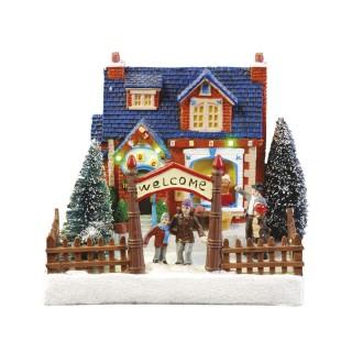 Village de Noël lumineux - Boutique de Noël