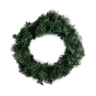 Couronne de Noël naturelle gm Cosychristmas - Vert