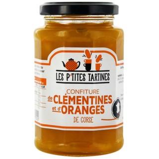 Confiture d'oranges de Corse et clémentine - Les P'tites Tartines - pot 315g