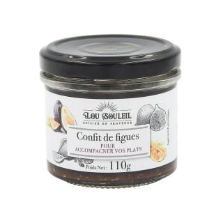 Confit de figues  - Lou Soleil - pot 110g