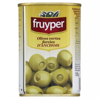 Olives farcies anchois - Fruyper - boite 130g