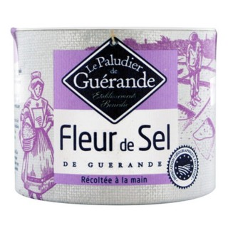 Fleur de sel de Guérande - Le Paludier de Guérande - boîte 125g
