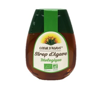 Sirop d'agave Bio - Cœur d'Agave - squeezer 250g