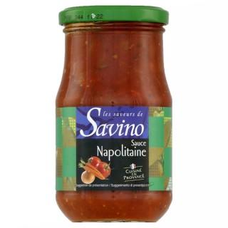 Sauce napolitaine cuisinée en Provence France - Les Saveurs de Savino - pot 350g