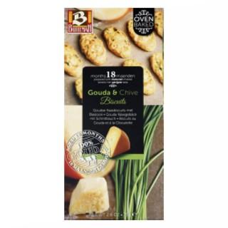Biscuits au gouda et ciboulette - Buiteman - boîte 75g